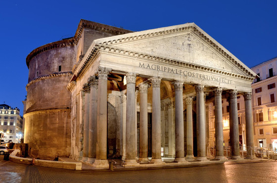 The Pantheon of Rome