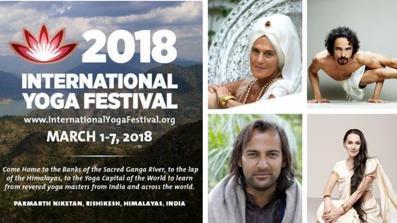 REGISTER NOW for International Yoga Festival 2018 at www.iyf2018.org #IYF2018