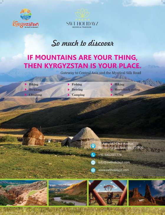 Visit Kyrgyzstan - the hidden gem of our planet