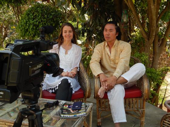 Meet Yoshi Aono and Dayna Seraye - the founders of the Hanuman Festival