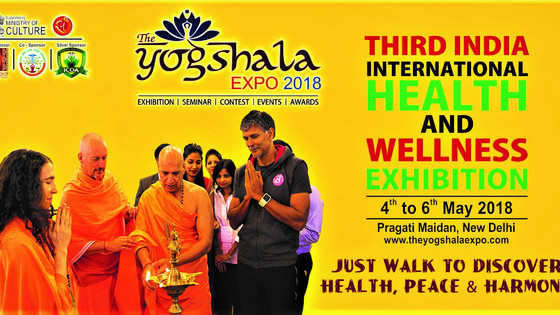 Health & Wellness Exhibition - The Yogshala Expo 2018 (Promotion of Complementary & Alternat
