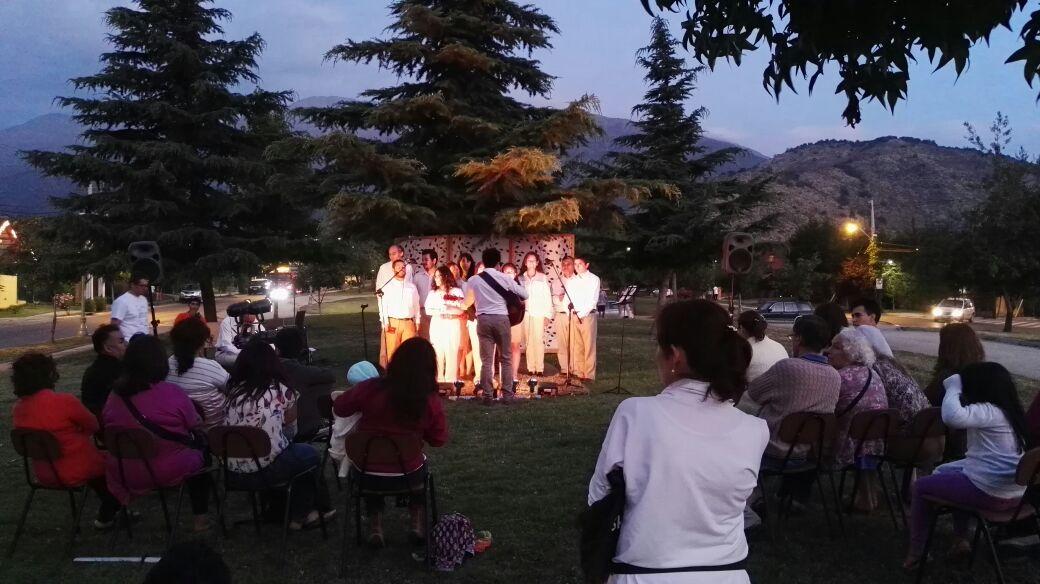 Coro de Navidad en Rojas Magallanes, sanchez Fontecilla