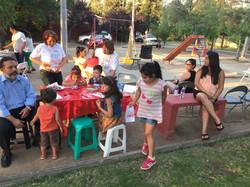 Compartiendo con vecinos de Villa Parque Las Mercedes2