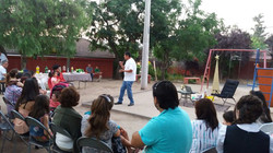 Compartiendo con vecinos de Villa Parque Las Mercedes