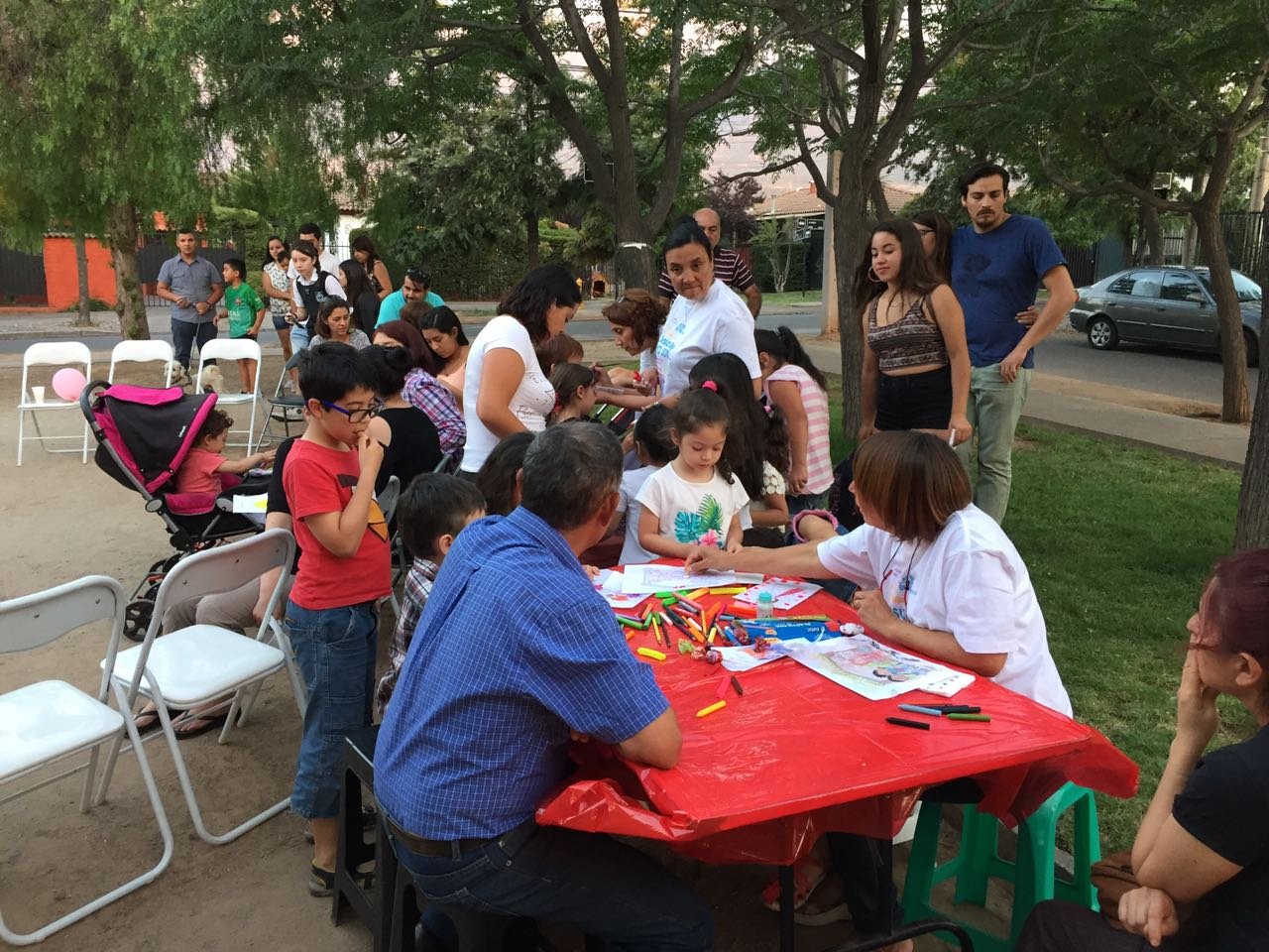 Compartiendo con vecinos de Villa Parque Las Mercedes4