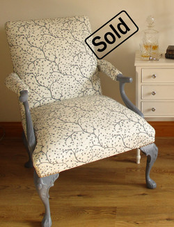 French Gentlemans Chair - Sold