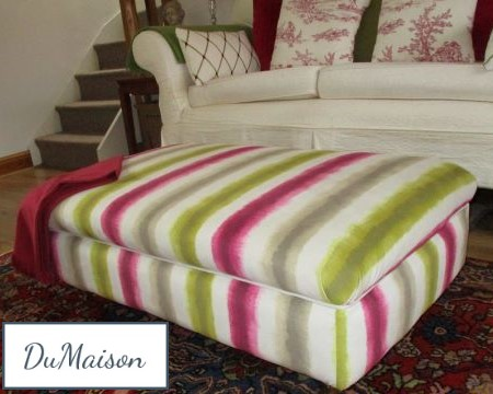 Foot Stool Upholstered