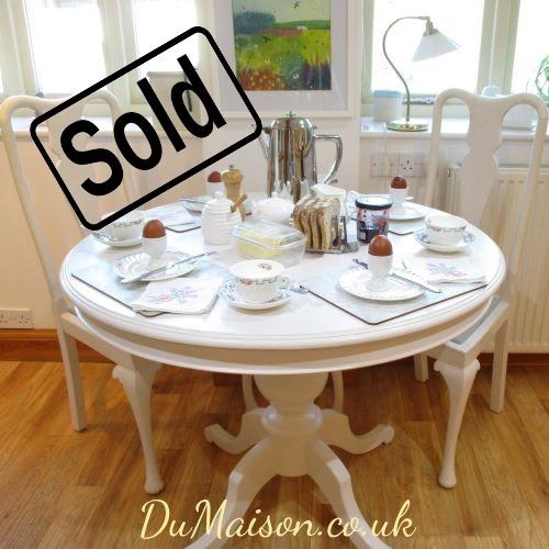 Round Kitchen Table - Sold