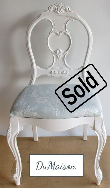 French Decorative Chair - Sold