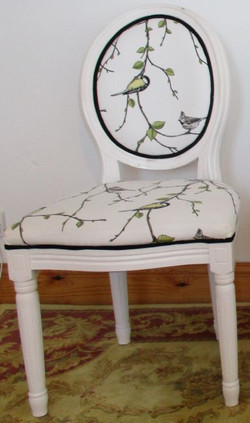 Oval Back French Style Chairs