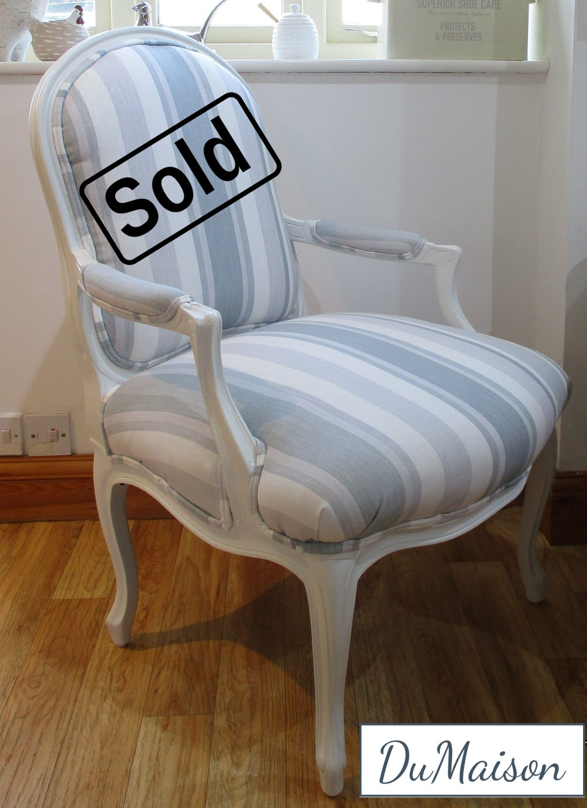 French Style Elbow Chair - Sold