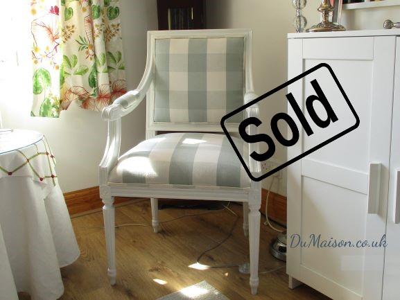 Gustavian Type Chair - Sold
