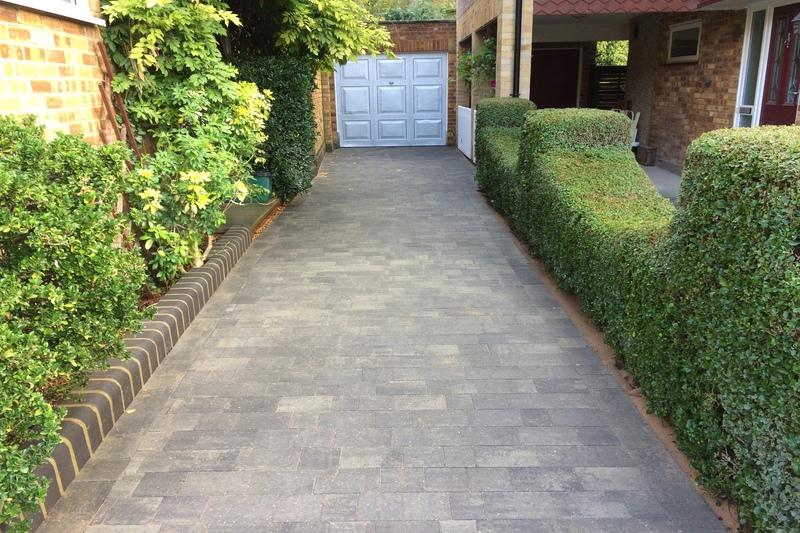 Block Paving Driveway Landscaping