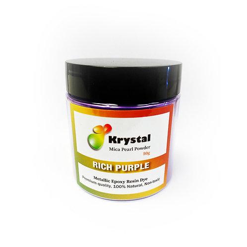 50g Rich Purple Mica Powder