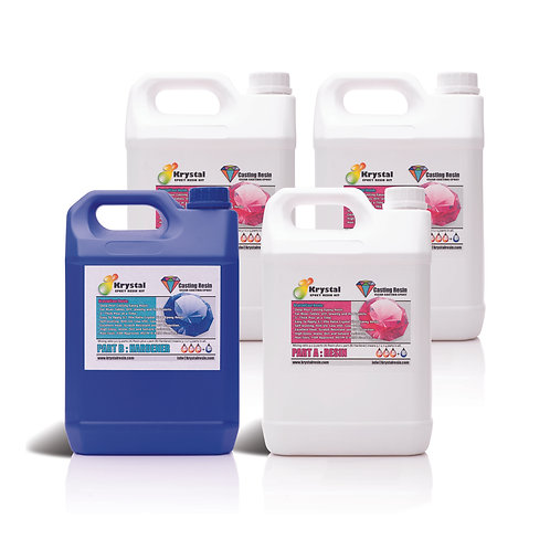 20 Litre Krystal Casting Epoxy Resin Kit