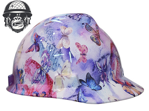 Pastel Butterfly Cap