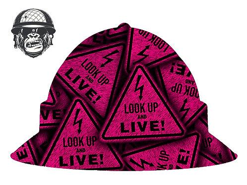 Look Up & Live Pink Wide