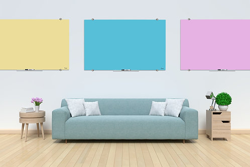 לוחות זכוכית מחיקים ומגנטים מסדרת - Bclear color