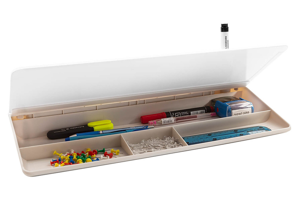 לוח מחיק שולחני כמו קלמר מתאים לשולחן עבודה ולילדים DEB ביקליר