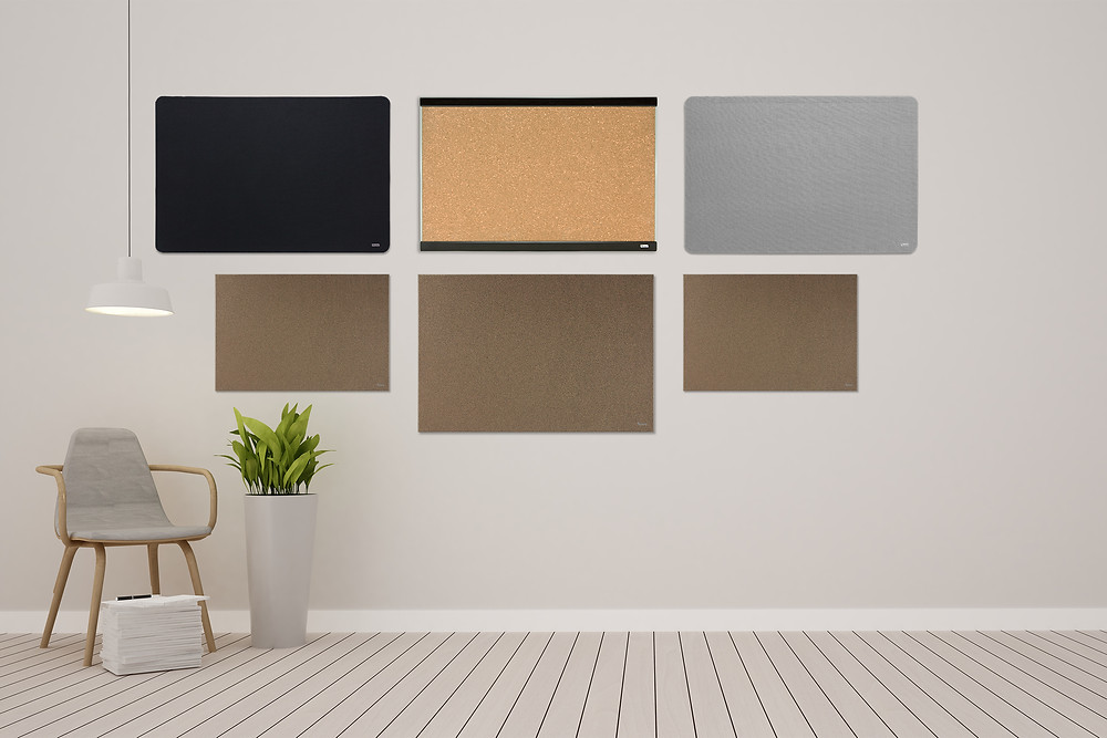 לוח שעם מעוצב לנעיצה בצבע שעם טבעי או צבעוני  של ביקליר Bclear