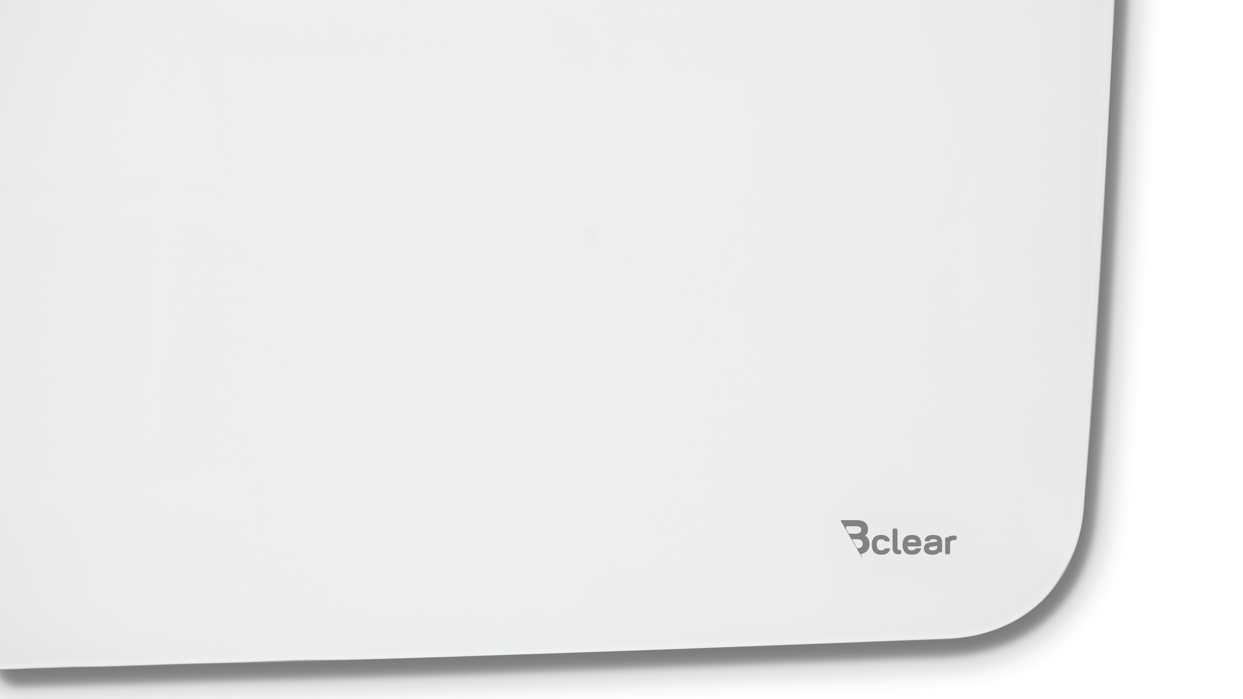 לוח זכוכית מחיק ומגנטי, לבן מעוגל אובלי Bcler Shape תמונת תקריב