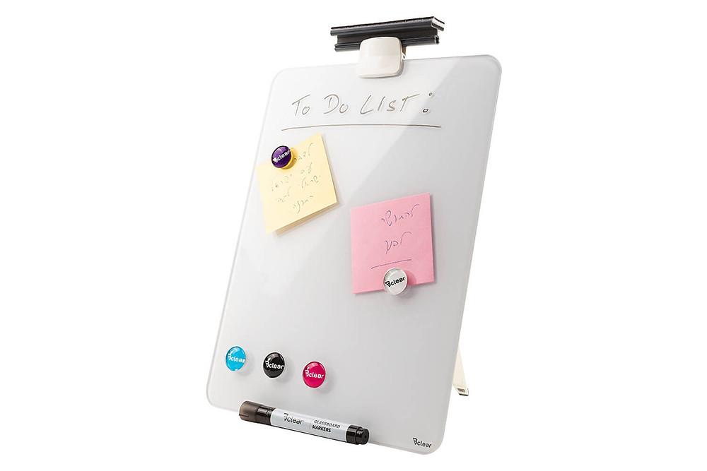 לוח שולחני מחיק מגנטי נייד מתאים לחדר ילדים ולשולחן העבודה DEB ביקליר