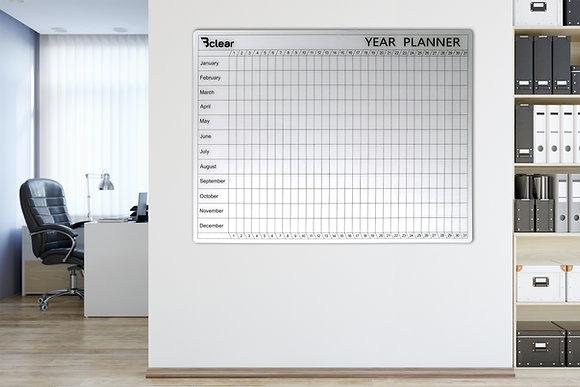לוח תכנון שנתי Bclear