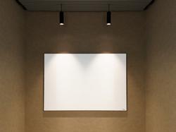 לוח מחיק זכוכית התקנה לקיר