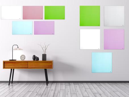 לוחות מחיקים קטנים וצבעוניים