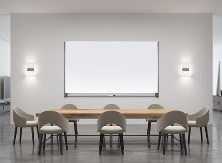 איך לוח זכוכית משתלב בחדר ישיבות והפך לבחירה המועדפת של מעצבי פנים?