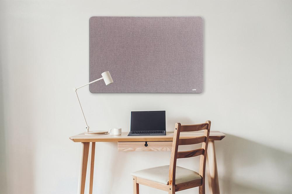 לוח בד בצבע ורוד עתיק למשרד, לבית, לחדר עבודה ללוח מודעות