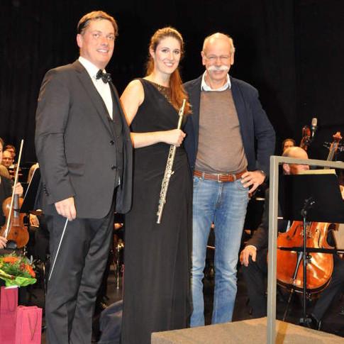 Konzert mit dem Daimler Sinfonieorchester Stuttgart, November 2015