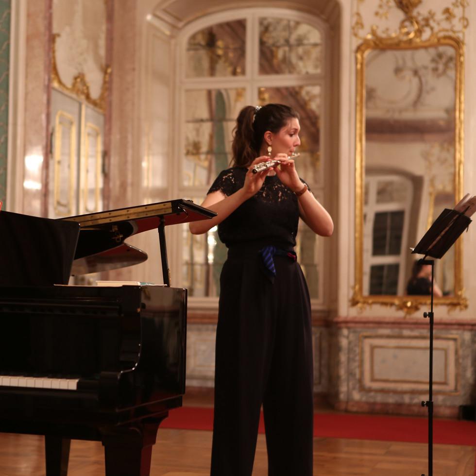 duo suono im Spiegelsaal der Residenz Eichstätt, 12.4.19