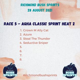 AQHA Classic Sprint Heat 2
