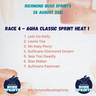 AQHA Classic Sprint Heat 1