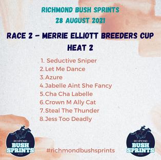 Merrie Elliott Breeders Cup Heat 2