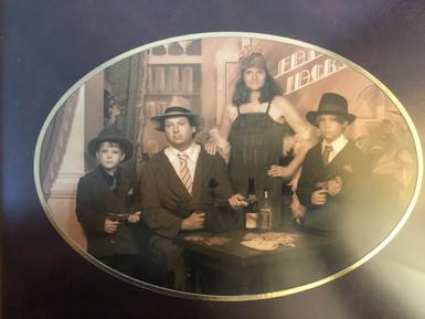 Xander Turian and his English Family ca 2002