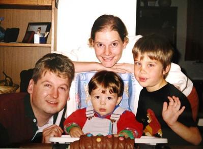 Xander Turian and his English Family 1996