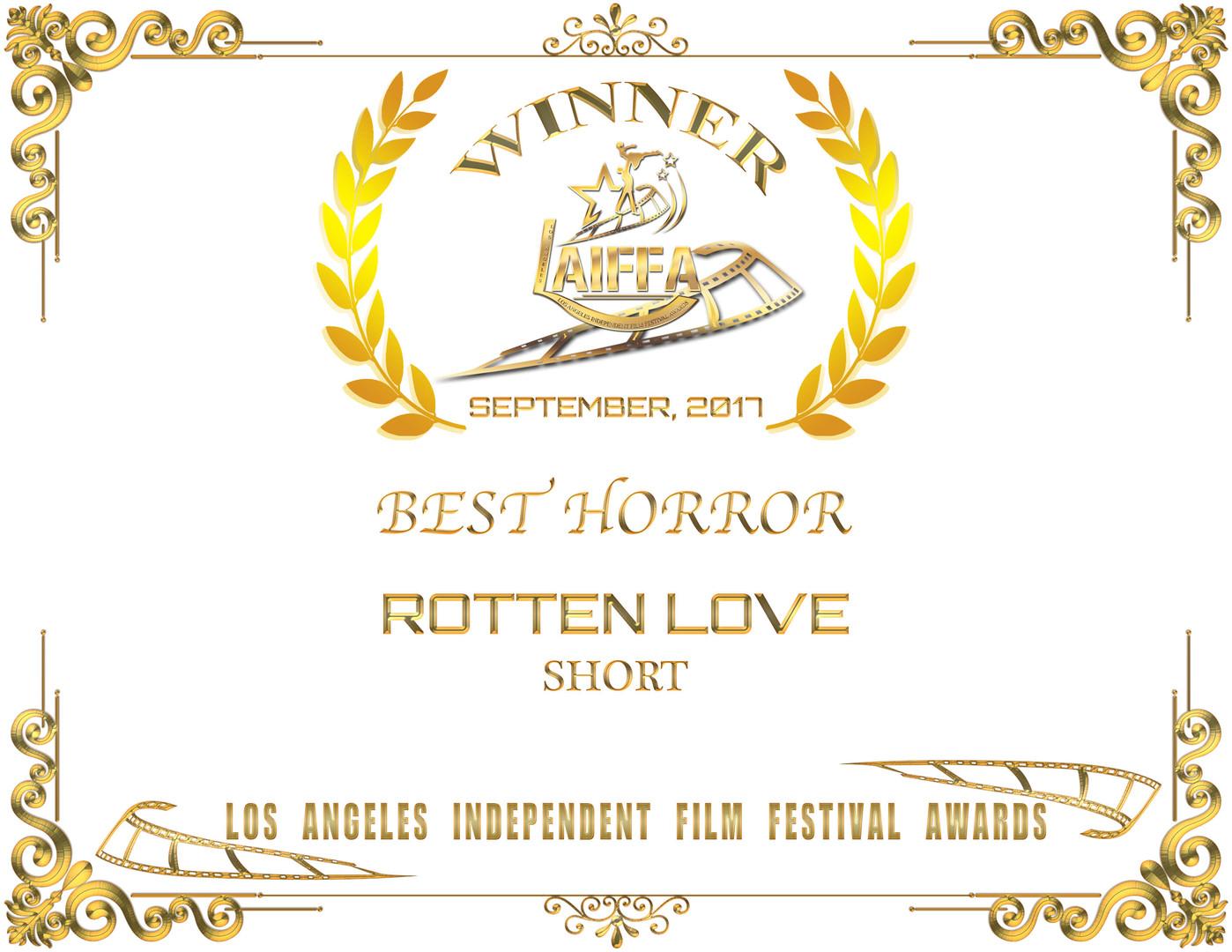 Los Angeles Independent Film Festival Awards