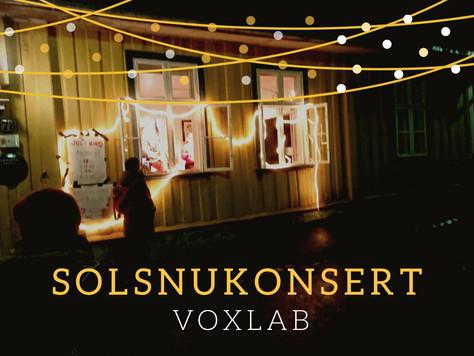 Solsnukonsert 21.12.2020