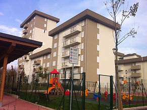 Case di Via Mazzini con area giochi