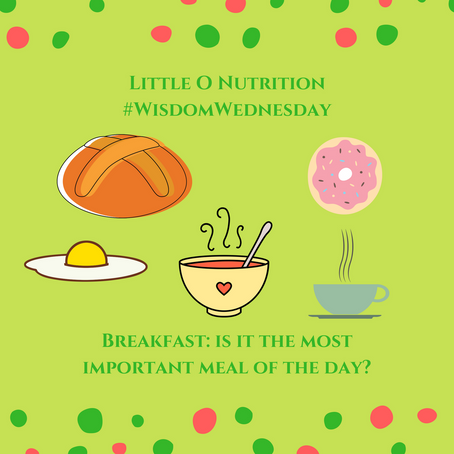 #WisdomWednesday. Breakfast: Is it  really the most important meal of the day?