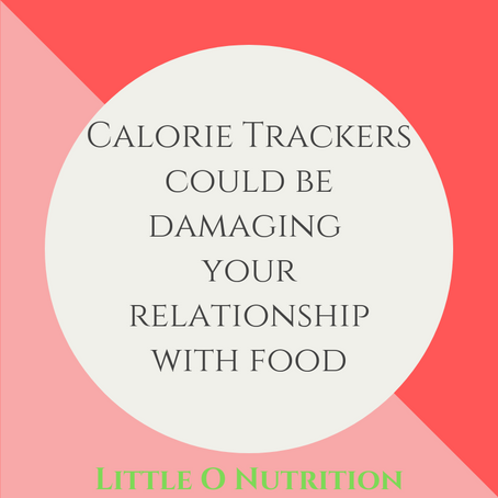 Calorie Tracking Apps + Disordered Eating
