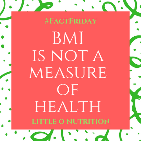 BMI is not a measure of health