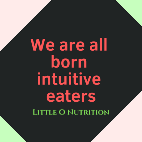 Intuitive Eating for Children