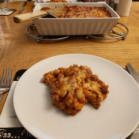 Easy-Peasy Pasta Bake