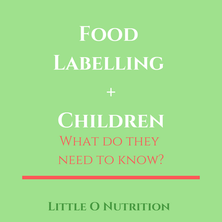 Food Labelling + Children?