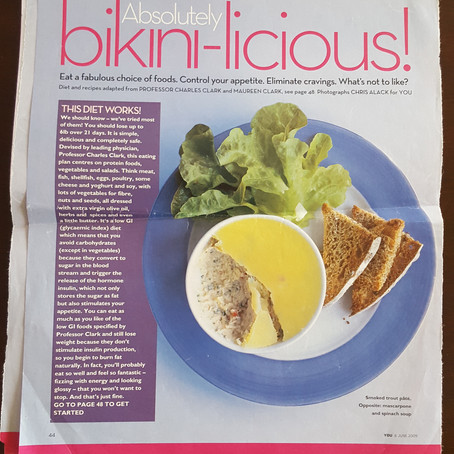 Absolutely NOT bikini-licious (2009 bikini diet) #TBT