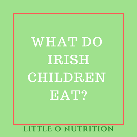 What do Irish children eat? National Food Survey Update