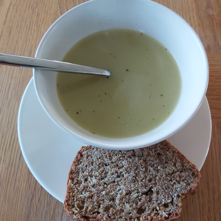 Leftover Green Soup